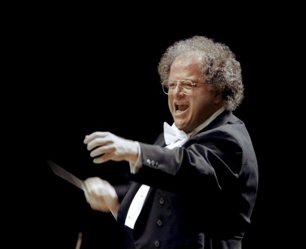 James Levine has denied the accusations.  Photo: Koichi Miura/Metropolitan Opera via Reuters
