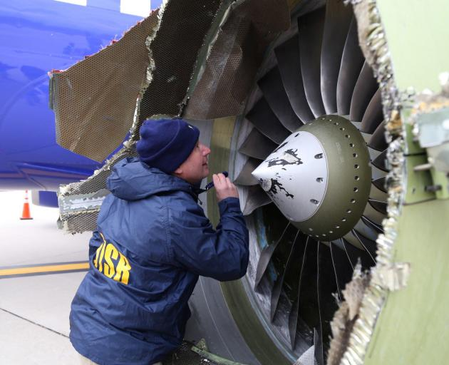 The Latest: Jet engine maker wants more inspections
