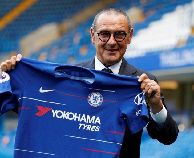 Maurizio Sarri: ''My goal is to have fun and be competitive in all the competitions until the end...
