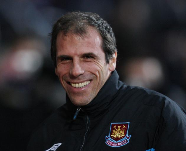 Gianfranco Zola spent seven years at Stamford Bridge as a player. Photo: Reuters