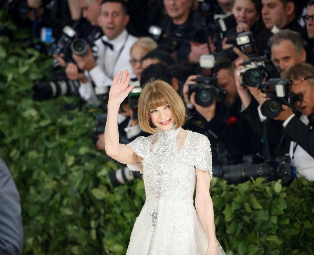 Anna Wintour arrives at the Metropolitan Museum of Art Costume Institute Gala in May.  Photo:...