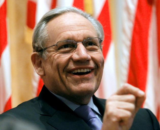 Bob Woodward. Photo: File/Reuters