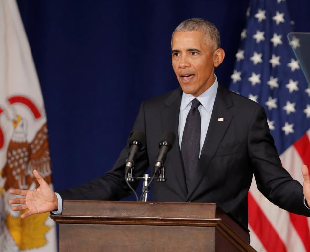 Barack Obama accused Republicans of being unwilling to safeguard democracy or offer a check on...