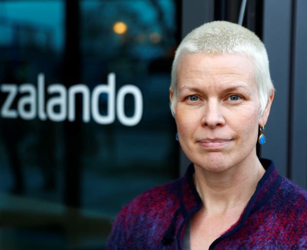Stacia Carr, head of engineering and sizing at Zalando. Photo: Reuters