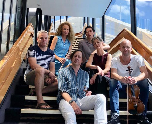 New Zealand ensemble Stroma will create the soundtrack to Ross' book. Photo: supplied