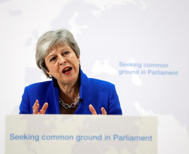 """Theresa May offered what she called """"significant further changes"""" but many MPs have already..."""
