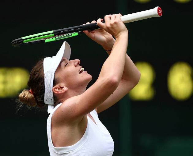 "Simona Halep: ""It's a great feeling to face Serena in a Grand Slam final."" Photo: Reuters"