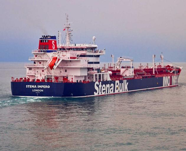 The Stena Impero, the British-flagged vessel owned that Iran claims to have seized. Photo:...