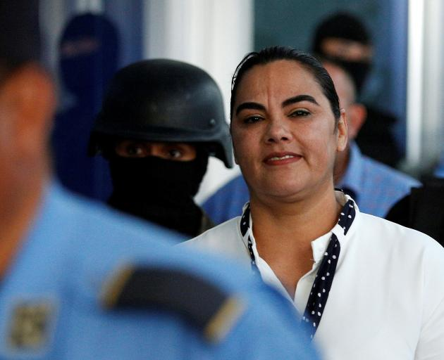 Rosa Elena Bonilla. Photo: Reuters