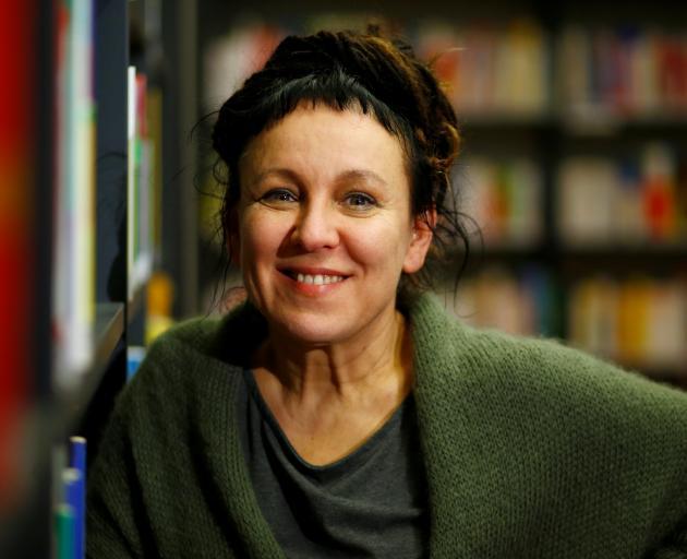 Olga Tokarczuk was awarded the 2018 literature Nobel Prize. Photo: Reuters