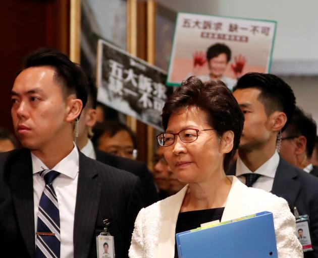Carrie Lam has become a lightning rod for protests over fears that China is tightening its grip....
