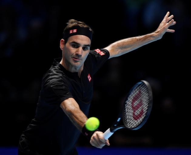 Roger Federer produced an astonishing display of power, grace and precision and Novak Djokovic...