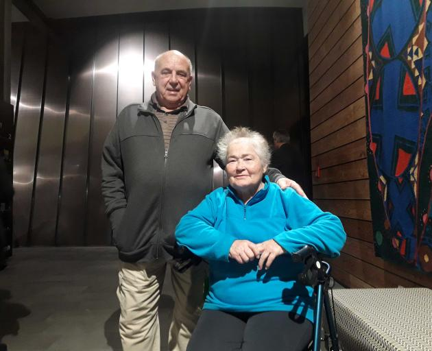 Arthur and Liz Edwards have fought for a pool in Hornby since 2002. Photo: Louis Day