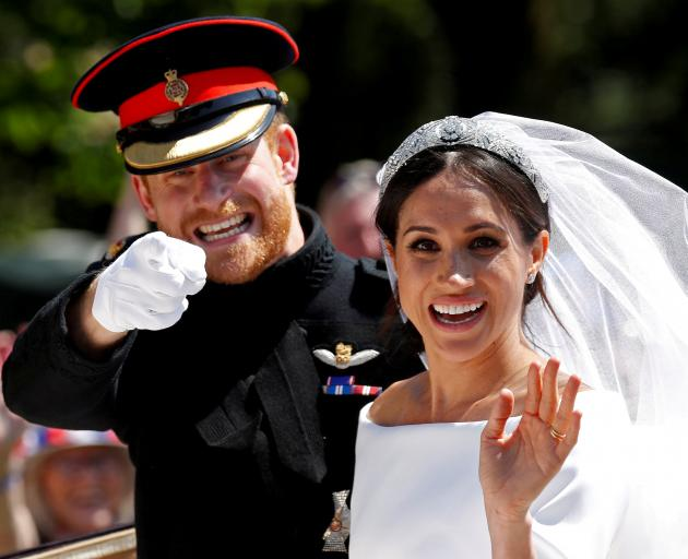 Harry and Meghan married in May 2018 at Windsor Castle and have one child, Archie. Photo: Reuters