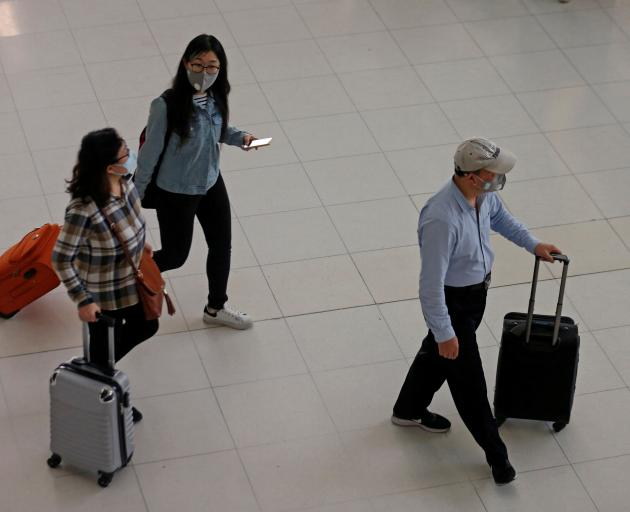There are concerns about the spread of the virus through air travel. Photo: Reuters
