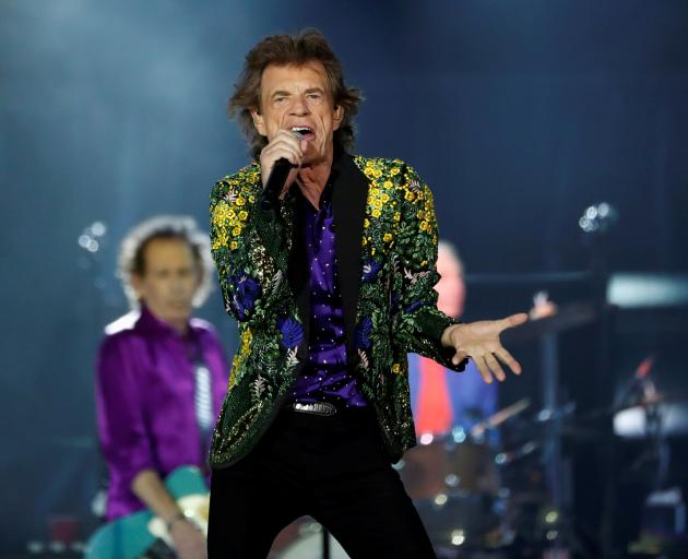 The Rolling Stones' Mick Jagger. Photo: Reuters