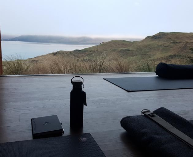 The twice-daily yoga sessions are designed for guests with all levels of experience, from...