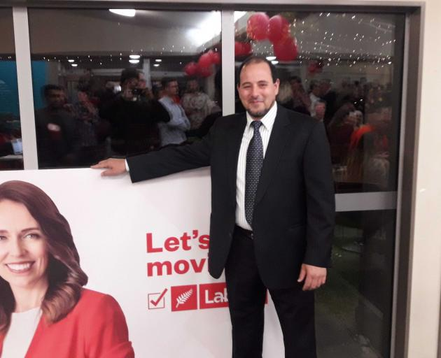 Gamal Fouda at the Labour HQ at the Woolston Club. Photo: Louis Day