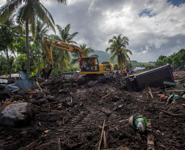 Cyclone Seroja has already devastated parts of Indonesia, killing at least 160 people. Photo:...