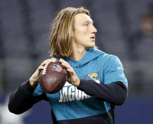 Jacksonville Jaguars quarterback Trevor Lawrence. Photo: Reuters