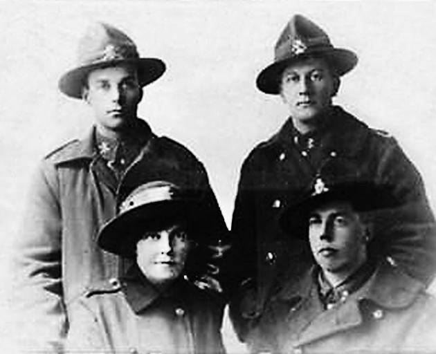 Four of the Rev Alexander Don's seven children served in World War 1. This photograph of them,...