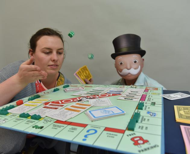 Hannah Allan plays Monopoly using forgotten rules devised for the board game's predecessor, The...