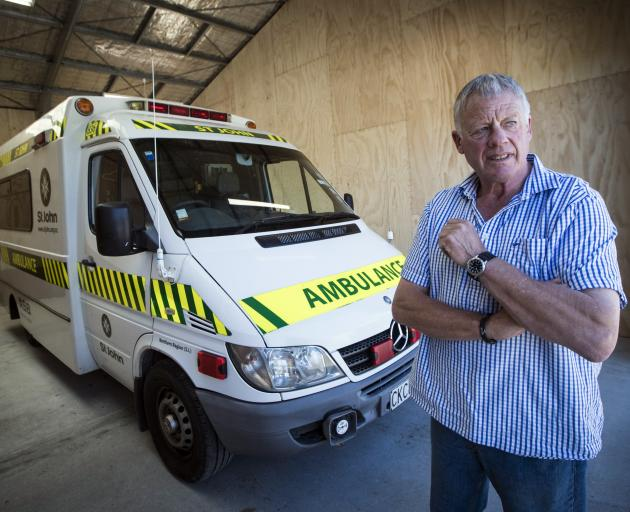 St John first responder and local businessman Blair Farmer has been campaigning for the Haast area to get cellphone reception. PHOTOS: THE NEW ZEALAND HERALD