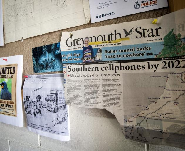 A campaign for the Haast area to get cellphone reception has been in the news on the West Coast. Photo: NZ Herald