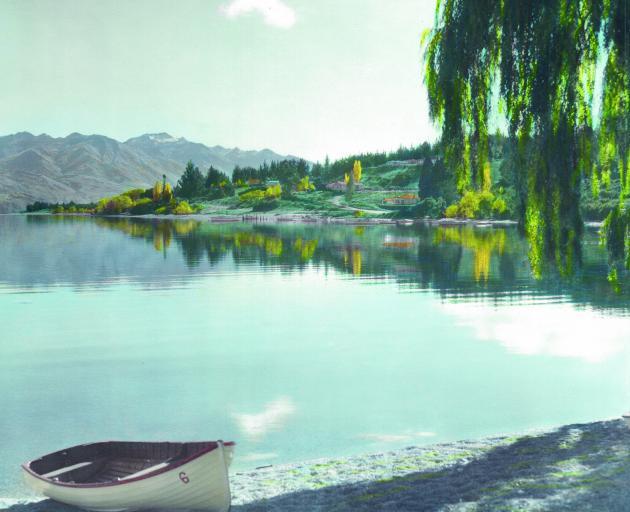 Lake Wanaka, 1954.