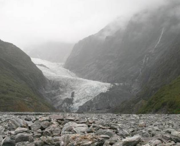 New Zealand's postcard glaciers are in trouble, scientists say. Photo: NZ Herald