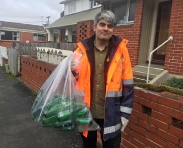 Dunedin mayor elect Aaron Hawkins. PHOTO: JONO EDWARDS