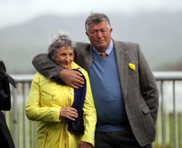 Waikato Stud owner Garry Chittick, pictured with wife Mary after a win in 2014, says his $5000...