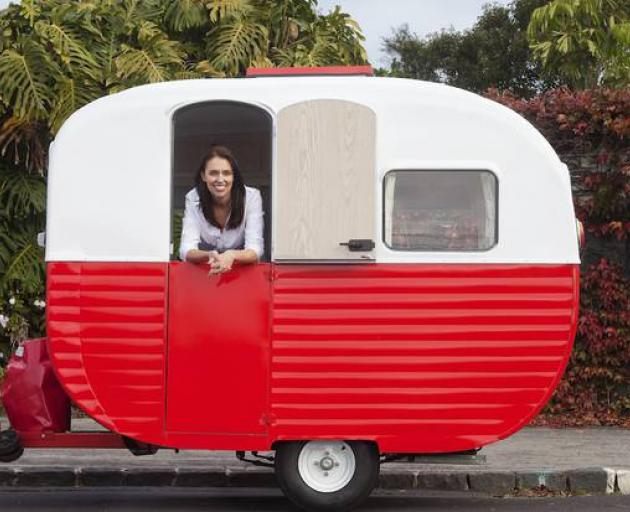 Prime Minister Jacinda Ardern will be walking alongside Labour's red caravan in the 2018 Pride...