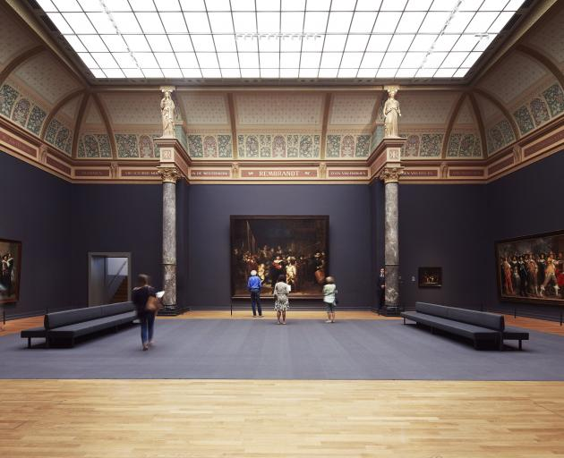 """The """"gallery of honour"""" at the Rijksmuseum hosts priceless art. Photo: Erik Smits"""