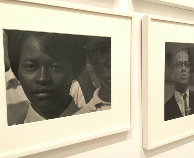 Roy DeCarava's 'Mississippi Freedom Marcher' 1963 photo at The Brood in Los Angeles shows a...