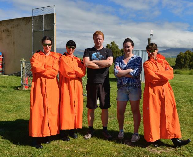 Lauder Niwa atmospheric technician Wills Dobson and University of Otago physics Masters student...