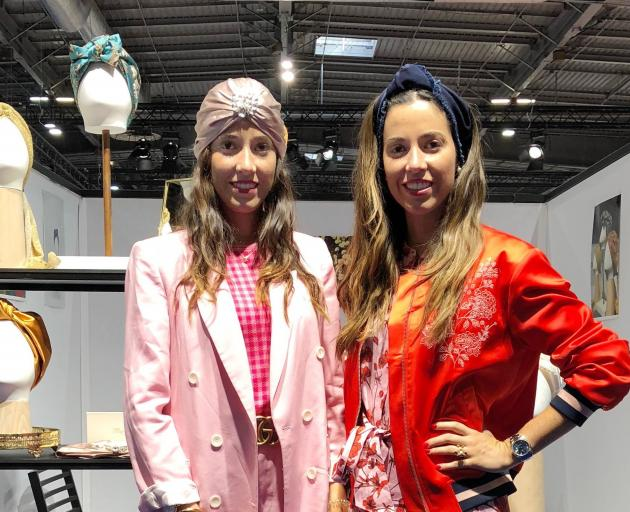 Allegra Tantalo (left) and Desideria Tantalo, the Italian twins who founded the luxury head...