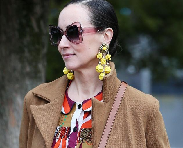 Bold, expressive, extravagant accessories are being seen across the globe in Zoom meetings. Photo...