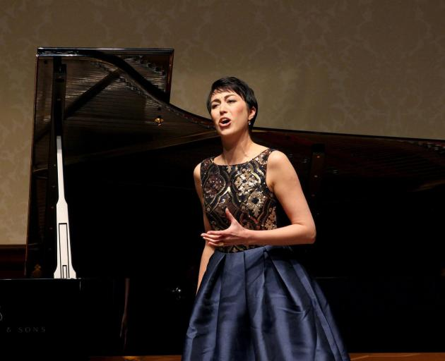 Mezzo soprano Bianca Andrew. Photo: supplied