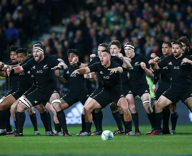 The All Blacks will be trying to win the World Cup for the third time in a row. Photo: Getty Images