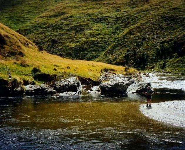The Pomahaka River. Photo: ODT files