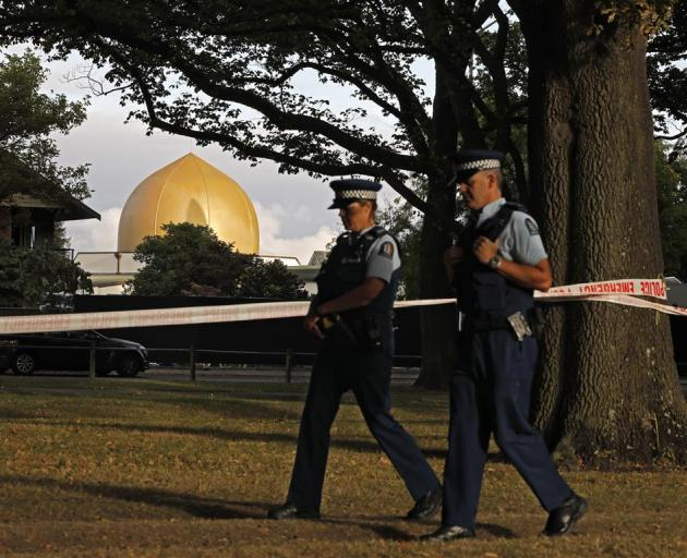 The Al Noor mosque in Christchurch (pictured) and one in the suburb of Linwood were targeted in...