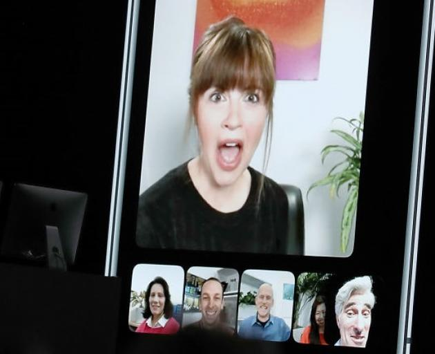 Apple released the FaceTime feature last year. Photo: Getty Images