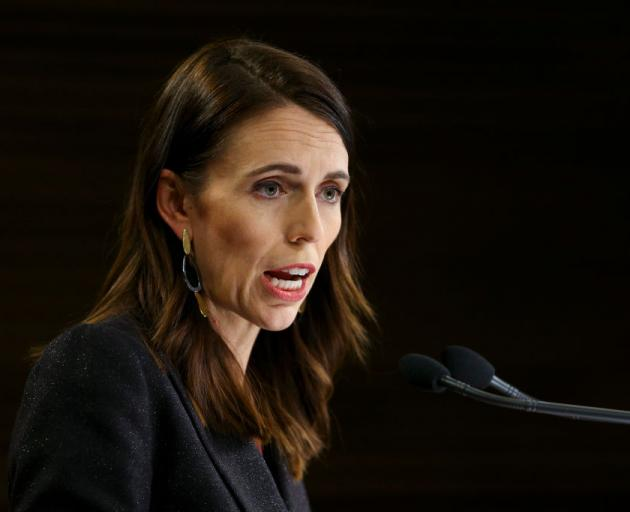 Jacinda Ardern says lockdown measures have made an impact in the fight against Covid-19. Photo:...