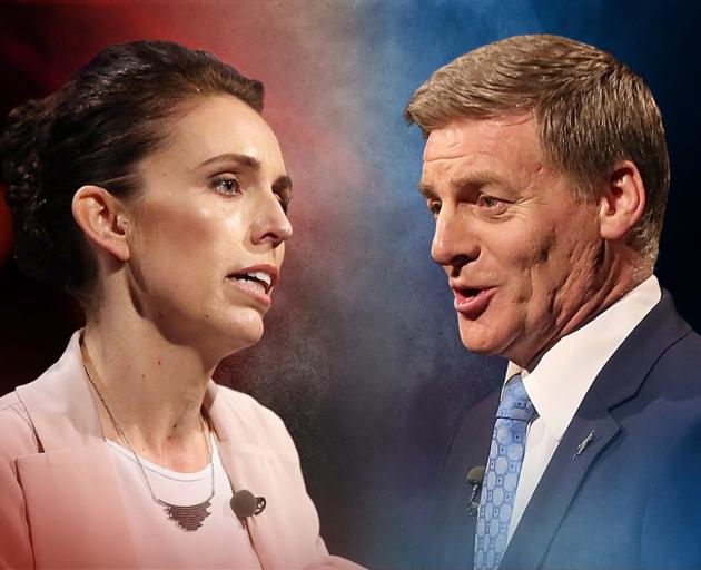 Labour leader Jacinda Ardern and National's Bill English. Photo: ODT files