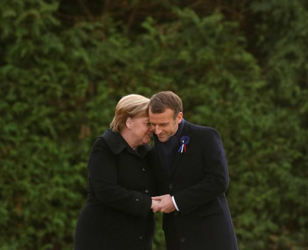 World leaders mark 100 years since end of WWI