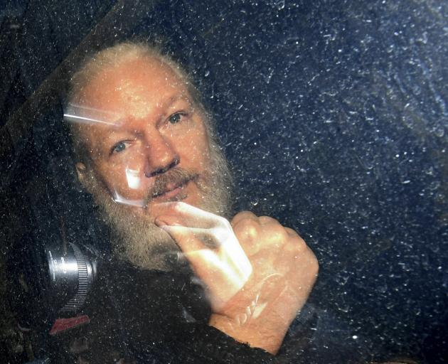 Julian Assange is in Belmarsh Prison awaiting sentencing in Britain for skipping bail to avoid...