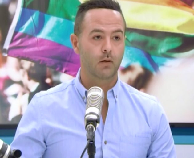 Aziz Al-Sa'afin says he was bashed on K' Road for being gay. Image: The AM Show via NZ Herald