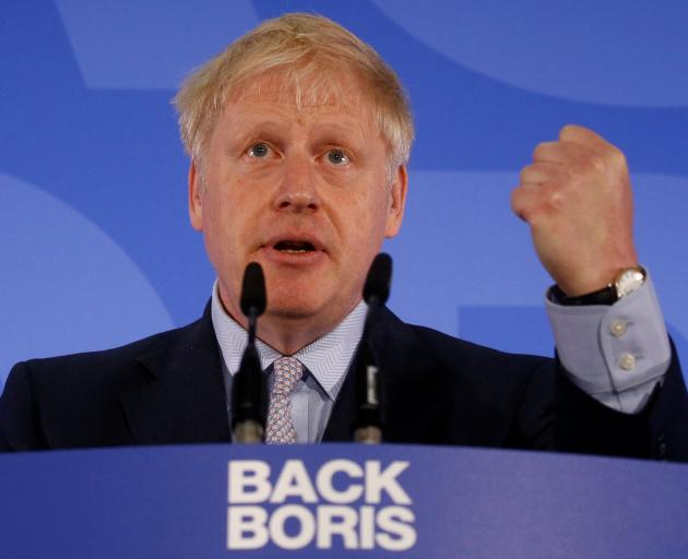 Boris Johnson is one of 10 contenders to replace Theresa May, whose premiership crumbled after...