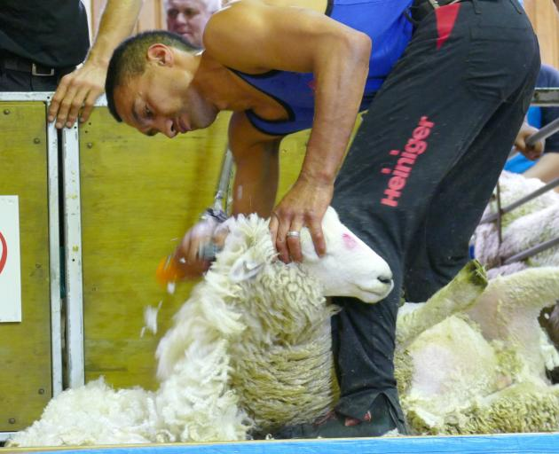 Leon Samuels, of Invercargill, was crowned Otago Shears champion 2020.